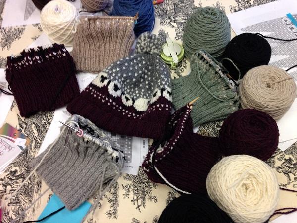Knitting Classes and Treats