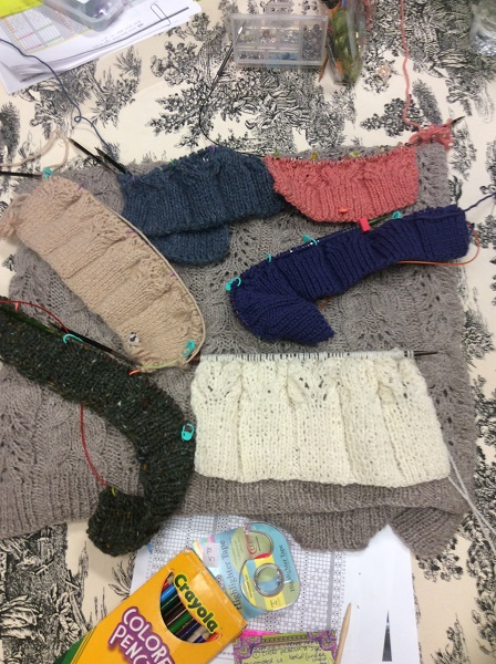 Some of the Knitting