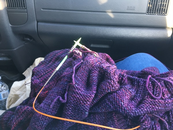 WIP Wednesday (on Monday) – Road Trip Version